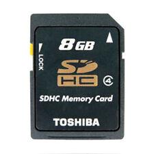 TOSHIBA 8GB Tarjeta De Memoria SD C4 Secure Digital SDHC Clase 4 Para Cámaras #
