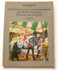 Sotheby's - British impressionist & modern paintings 1984 AUCTION CATALOGUE