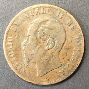 10 Centesimi 1867 Regno D'Italia Re Umberto I Birmingham
