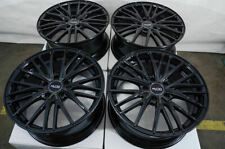 "18"" Wheels Fit Lexus Es300 Gs300 Is250 Is300 Is350 Altima Maxima Black Rims (4)"