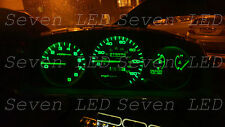 Green Honda Civic EG 92-95 Gauge Cluster + Climate control LED KIT