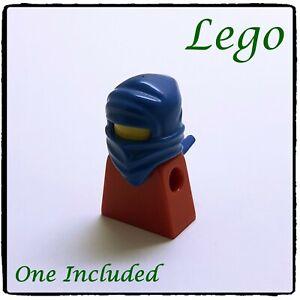 LEGO Minifigure Balaclava Wrap Hat, Ninja, Blue ~1 included~