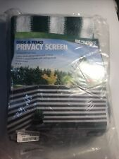 IdeaWorks New Deck & Fence Privacy Durable Waterproof Netting Screen  -01b