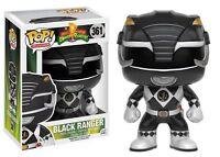 "DAMAGED BOX MIGHTY MORPHIN POWER RANGERS BLACK RANGER 3.75"" POP VINYL FIGURE"