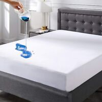 Mattress Protector Twin Full Queen King Size Soft Bedding Waterproof Bed Cover
