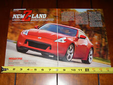 2009 NISSAN 370Z  - ORIGINAL ARTICLE