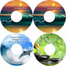 Healing Nature & Music on 4 CDs Relaxation Stress Anxiety Relief Help Sleep