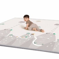 EE/_ UK/_ LK/_ 110cm Soft Cotton Leaf Kids Baby Game Gym Play Mat Crawling Blanket