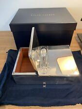 New Ralph Lauren Halton Silver Box