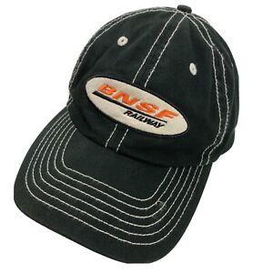 BNSF Railway Ball Cap Hat Adjustable Baseball Trains