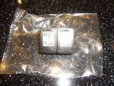 2 x Used Empty Genuine HP 301 INK CARTRIDGE BLACK  - ideal for refilling - vgc