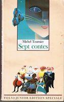 Siete Cuentos Michel Tournier Folio Junior Libro Juvenil