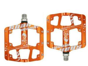 SMS Aluminum Widen 3 Bearing Anti-slip BMX Bicycle Pedals Flat MTB Bike Pedals