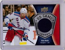 RICK NASH 16/17 Upper Deck UD Game-Used Jersey #GJ-RN Hockey Card Rangers