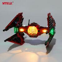 LED Light Up Kit For LEGO 75240 Major Vonreg's TIE Fighter Lighting Bricks Set