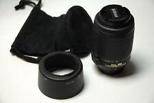 NIKON NIKKOR 55-200mm f/4-5.6 G AF-S ED VR DX LENS - EXCELLENT CONDITION