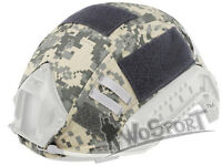 Tactical Military Hunting Helmet Cover for Ops-Core Fast Helmet BJ/PJ/MH ACU
