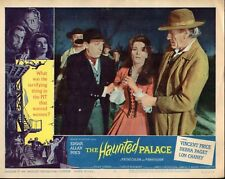"""Vincent Price Lon Chaney The Haunted Palace Set Of 8 11x14"""" Lobby Cards N2939"""