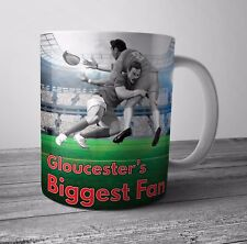 Gloucester Fan Rugby Mug / Cup - Birthday / Christmas Gift / Stocking Filler
