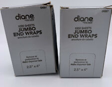 "Diane Jumbo End Wraps sheets 2.5"" X 4"" 2 Boxes"