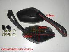 E MARKED Sports Mirror Pair BMW F 650, F 650ST, F 650GS, F 650CS R 850C IN STOCK