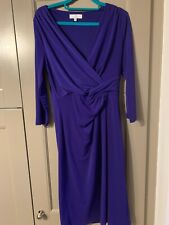 Jasper Conran Purple Dress UK12