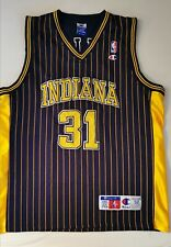 NBA Champion AUTHENTIC Jersey REGGIE MILLER Trikot INDIANA PACERS XXL #31 2XL