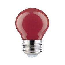 Paulmann 280.31 LED Tropfen Mini Klein 0,6W E27 rot für Lichterketten