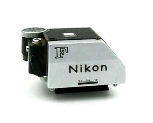 Nikon FTN F Eye level Prism View Finder Silver w/ cover