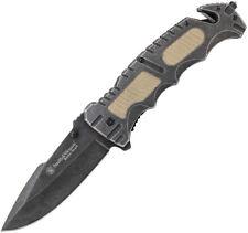 New Smith & Wesson Folding Pocket Knife Border Guard Linerlock SWBG7