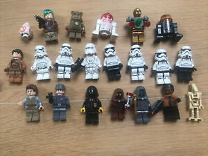 Lot Personnages Star Wars