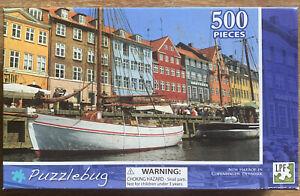 Puzzles: Puzzlebug Jigsaw Puzzle - New Harbour, Copenhagen, Denmark (500 pieces)