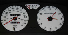 Lockwood Peugeot 106 110MPH Jaeger without Rev Counter GREEN (G) Dial Kit