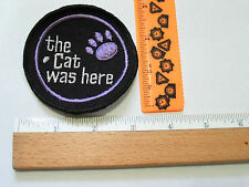 Vintage Arctic Cat The Cat Was Here Snowmobile Patch (#1487)