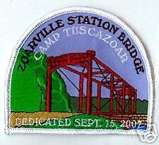ZOARVILLE STATION BRIDGE DEDICATION PATCH