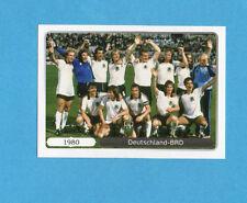 PANINI-EURO 2012-Figurina n.523- SQUADRA/TEAM- ERMANIA BRD 1980 -NEW WHITE BOARD