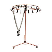 Rotating Rack Stand Display Jewelry Necklace Ring Earrings Holder Organizer New