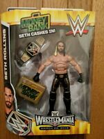 WWE SETH ROLLINS Elite MONEY IN THE BANK Toys R Us Exclusive Mattel  HTF