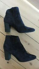 Primark black ankle boots Size 5 Used