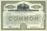 Central States Electric Corporation > 1935 Virginia old stock certificate share