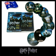 Harry Potter Complete 1-8 Movie DVD Collection Films Box Set As Xmas Gifts AU