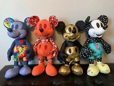 Lot of 4 NWT Disney Store June+July+August+September Mickey Mouse Memories Plush
