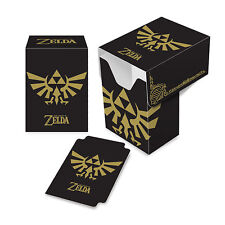The Legend of Zelda Black and Gold ULTRA PRO DECK BOX FOR MTG POKEMON CARDS