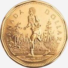 2005 CANADA TERRY FOX MARATHON OF HOPE $1 DOLLAR BU LOONIE