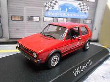 VW Volkswagen Golf GTI MKI 1 rot red 1976 3-Türer Norev NEU 1:43