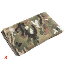 Military Face Mask Hunting Army Neckerchief Tactical Camouflage Veil Mesh Scarf 3