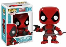 Funko POP Marvel: Deadpool Bobble Head Vinyl Action Figure With Gun and Sword