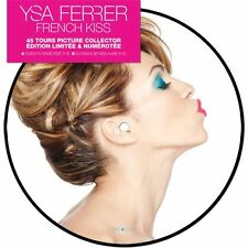 """YSA FERRER 'FRENCH KISS'  LTD FRENCH BLUE 7"""" PICTURE"""