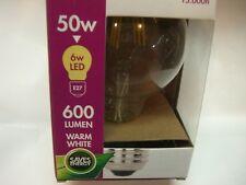 LED Bombilla Globo filamentos Retro Design G95 6W E27