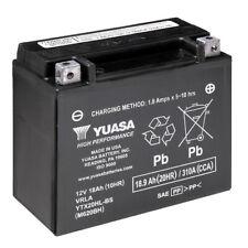 Motorrad Batterie YUASA YTX20HL-BS AGM geschlossen 12V|18Ah|CCA310A 175x87x155mm